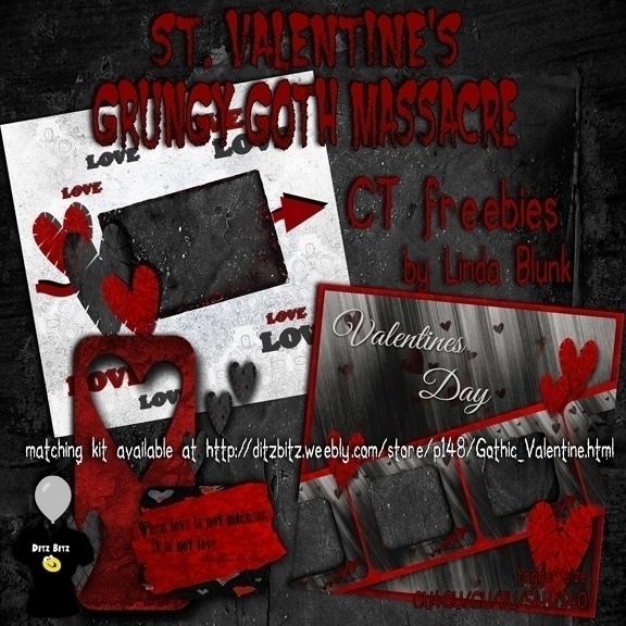 freebies kit, St. Grungy Goth M - ditzbitz   ello