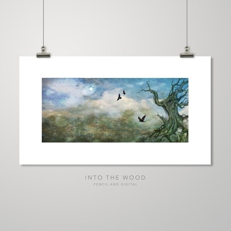 Wood Prints kwill.co.uk - #fantasy - kwillustrator | ello