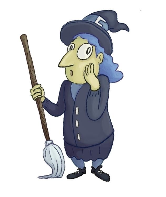 Blue witch - vianeo | ello