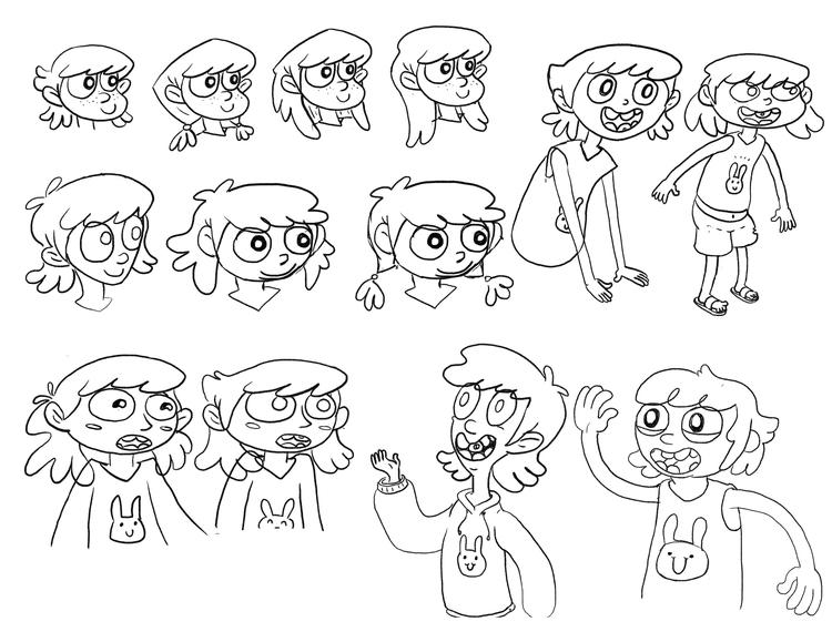 Carmen - characterdesign - vianeo | ello