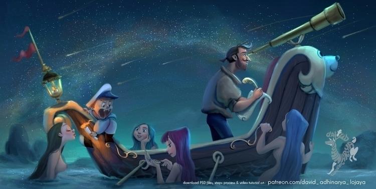 Stargazing - stargzer, stargazing - david_adhinarya_lojaya | ello