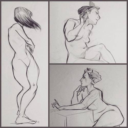 Life Drawings - lifedrawing, figuredrawing - juubus | ello