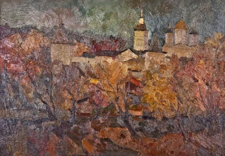 Bohr autumn, 80/100, Oil / canv - antonbogatov | ello