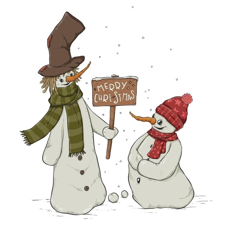 Snow... Christmas season approa - zita-3948 | ello