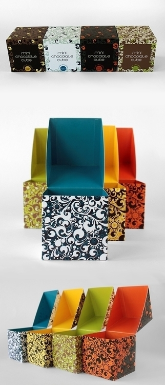 packaging, box, patterndesign - cultcat | ello