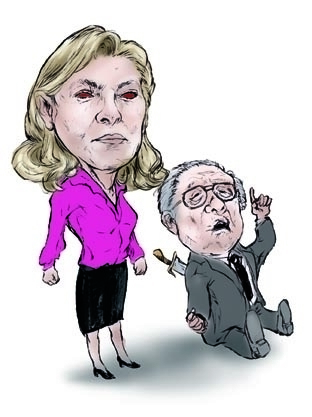 Marine Le Pen Daughter darkness - waivisuals | ello