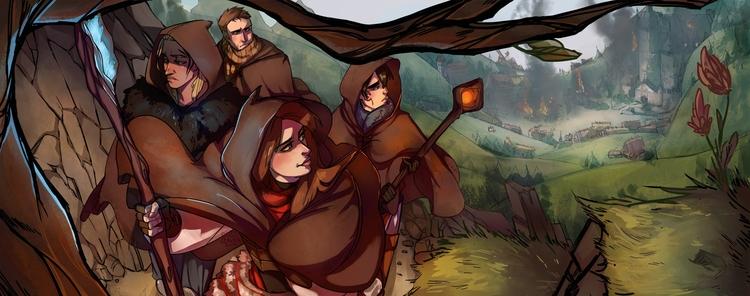 Dragon Age fanart - dragonage, landscape - dustyleaves | ello