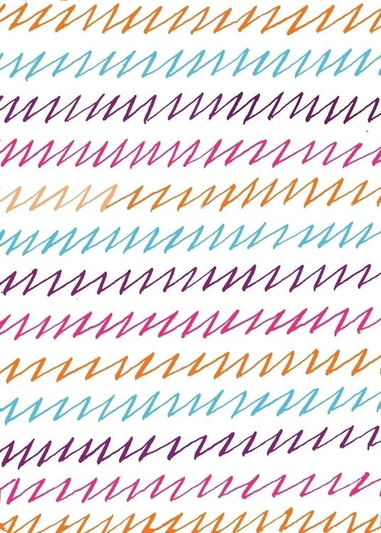 Pointed Pen Pattern // Handlett - missjenbeck | ello