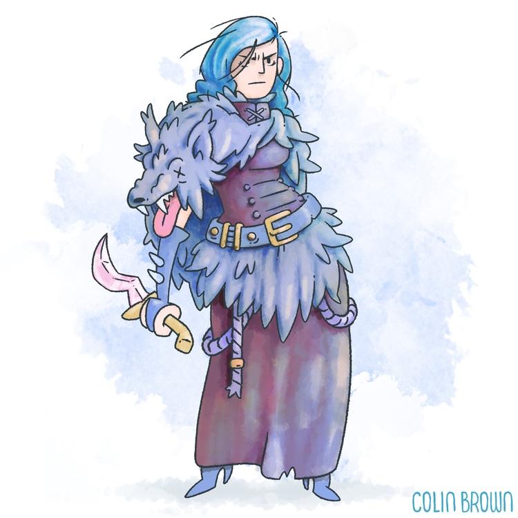 illustration, characterdesign - colinbrown-7810 | ello