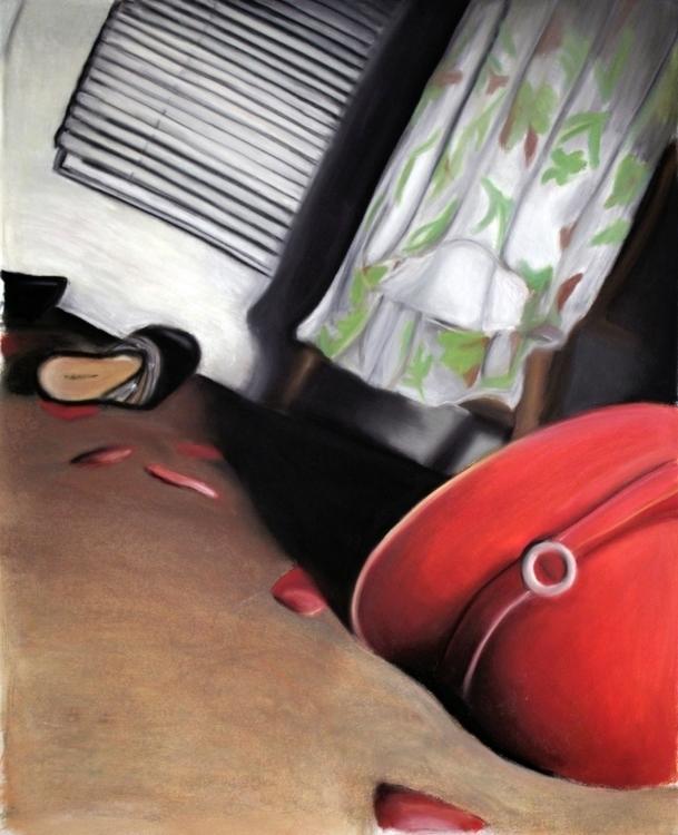Pastel noir drawing - pastel, pastels - keprzygoda | ello