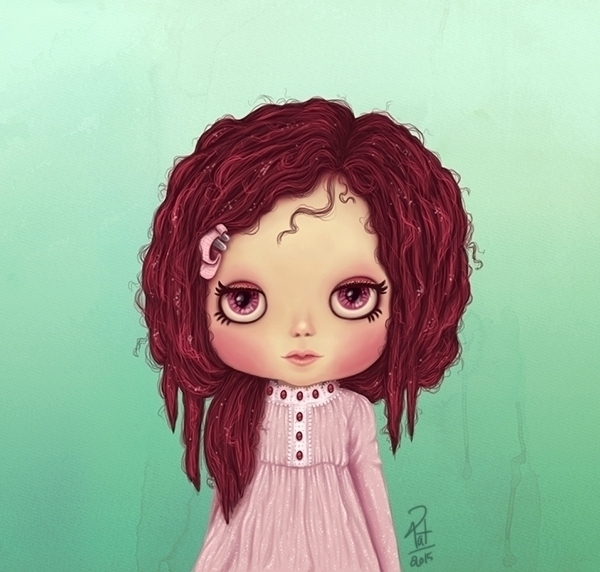 Pink - doll, blythe, pink, pretty - patoodle-1214 | ello