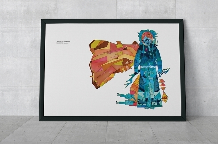 Cosmos series | basia lukasik,  - typohole | ello