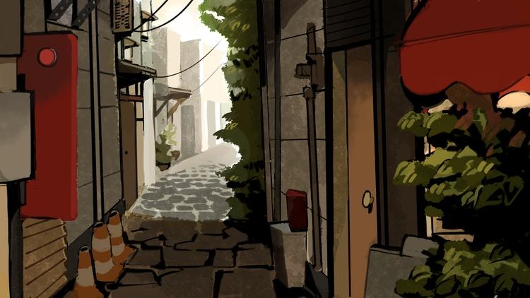 Alleyway layout - pom-1507 | ello