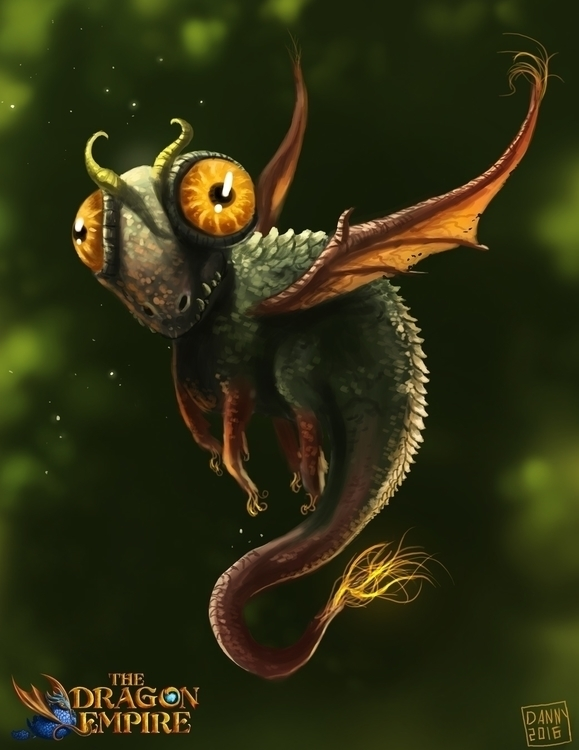 dragon, dragonling - dannykundzinsh | ello