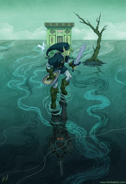 Water Temple - Legend Zelda Bot - kiwifruitbird | ello