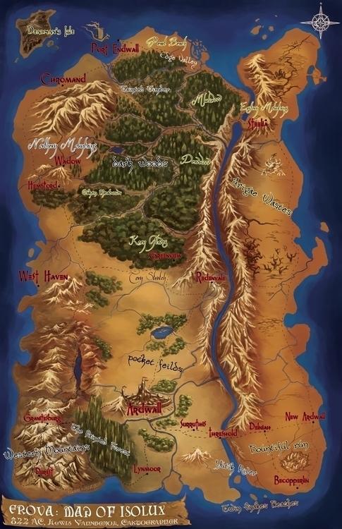 fantasymap - dannykundzinsh | ello