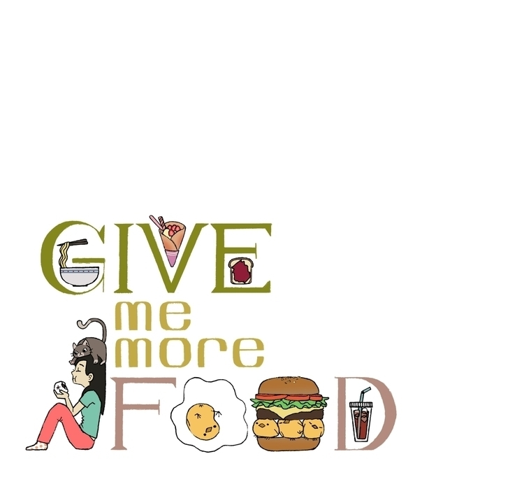 Give Food - illustration, drawing - eunice-3818 | ello