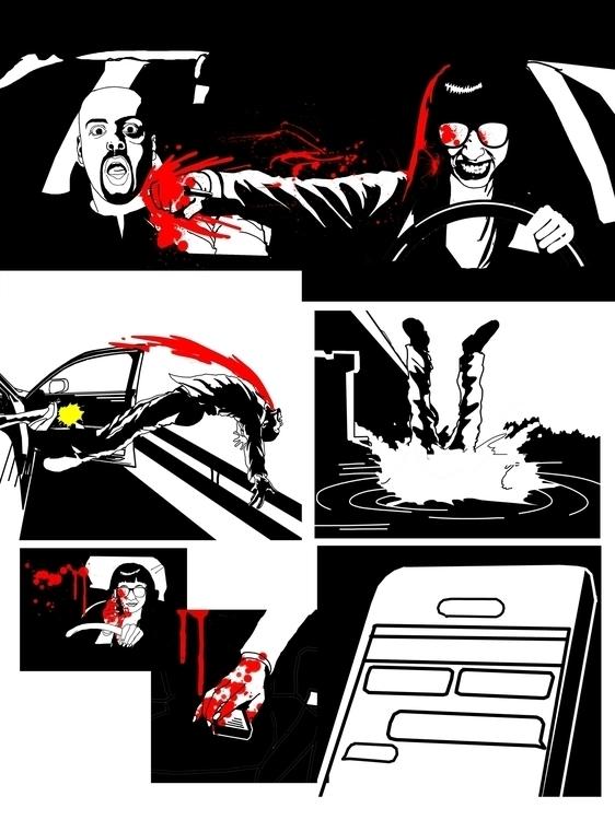 page 8 - blackandwhite, comicpage - sunnyefemena | ello