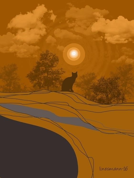 place tomorrow - painting, deep - sunnyefemena | ello