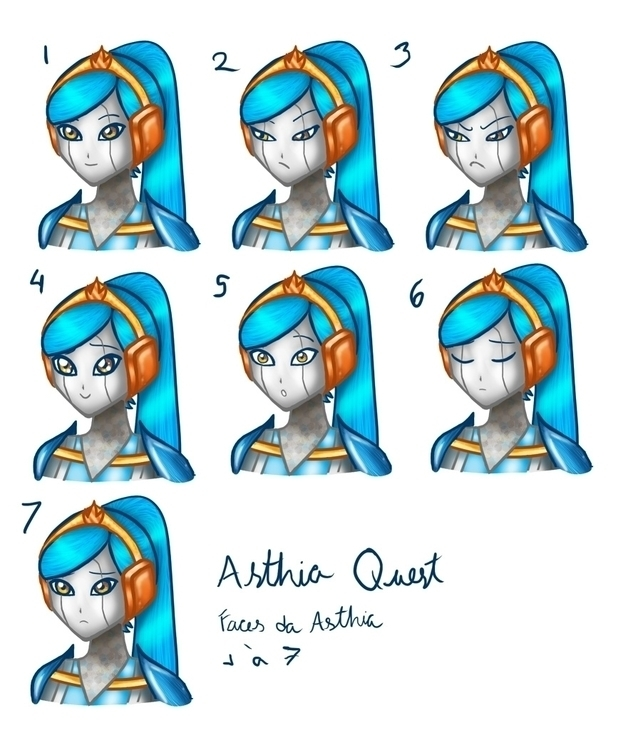 Asthia Quest, Harpa Game Studio - donamarie   ello