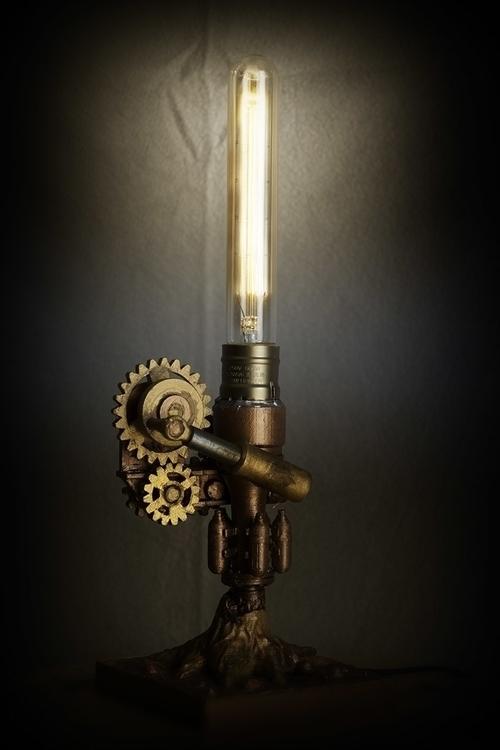 Steampunk02, height = 36cm - 3dprint - fryk   ello