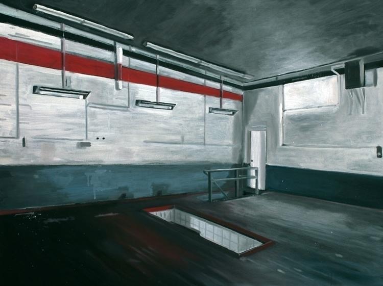 Factory. 80x 100 cm.Oil Canvas - reconq | ello