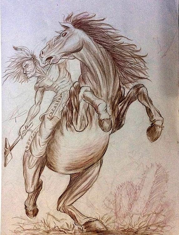 Nativo - drawing - nogui-5722 | ello