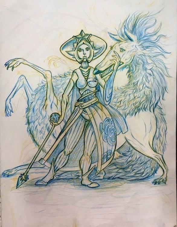Scarla - drawing - nogui-5722 | ello