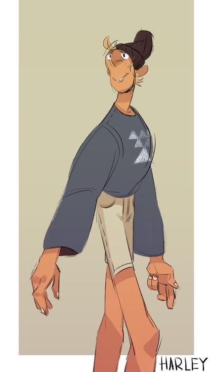 characterdesign - harleyhuang   ello