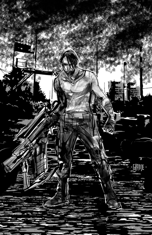 Rheizig concept art Grande - comicbooks - shroudmediallc   ello