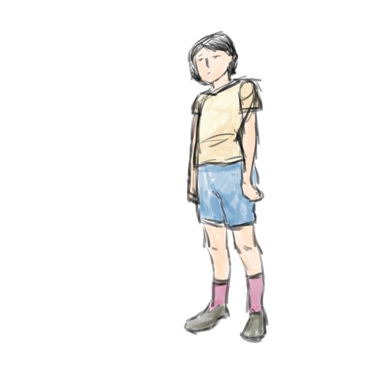 sad girl - shiwenqin | ello