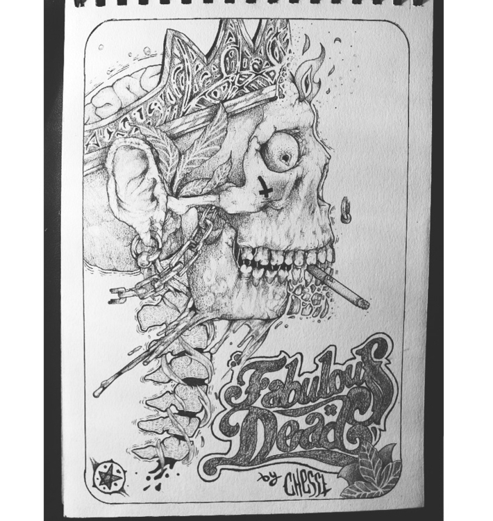 Fabulous Dead - pencildrawing, sketchbook - jesusmendoza | ello