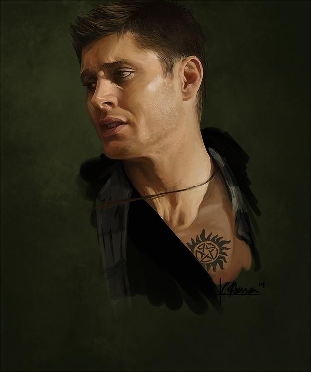 Dean Winchester - Supernatural  - celestialartistry | ello