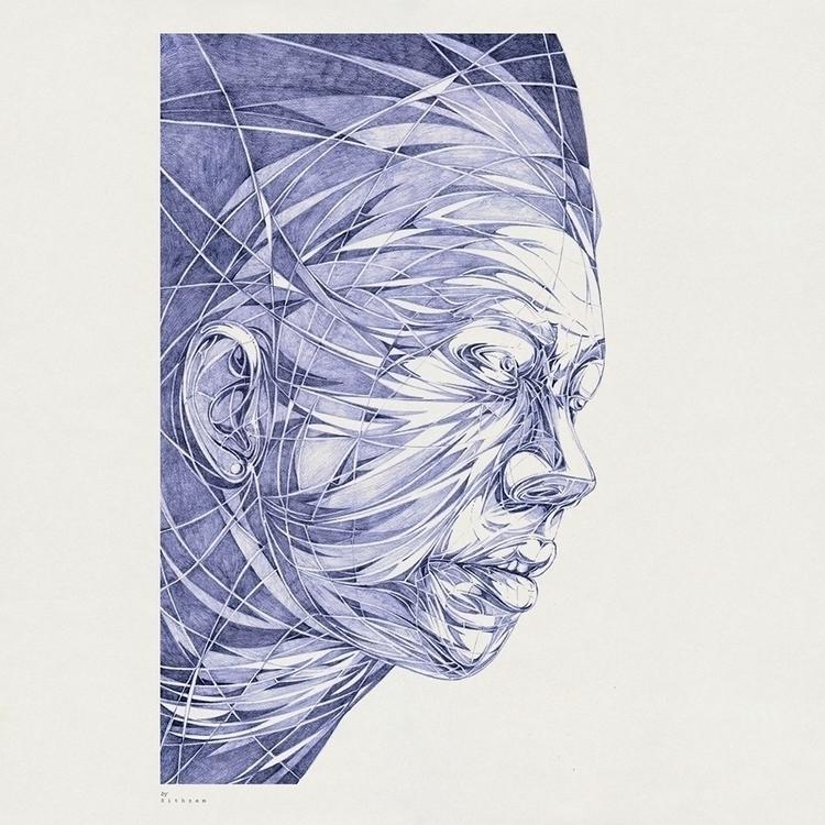 Portrait pencil paper - drawing - sithzam | ello