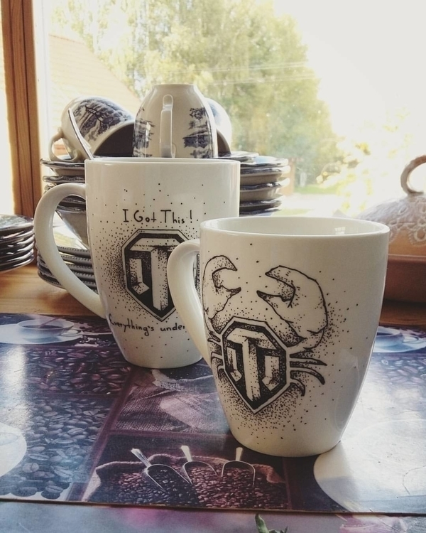 Coffee mug World Tanks fans  - coffee - saffiri | ello