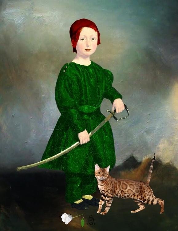 Prince cat, Margarita García Al - margogroenlandia | ello