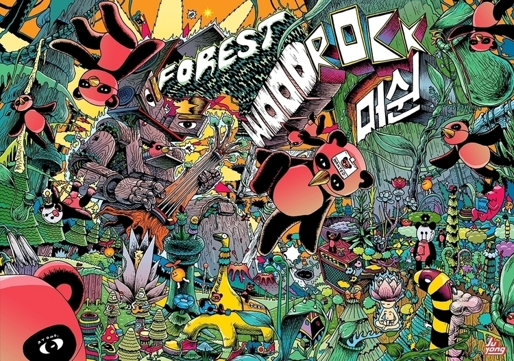 Forest Woodrock Machine. 2013  - juyonglee | ello