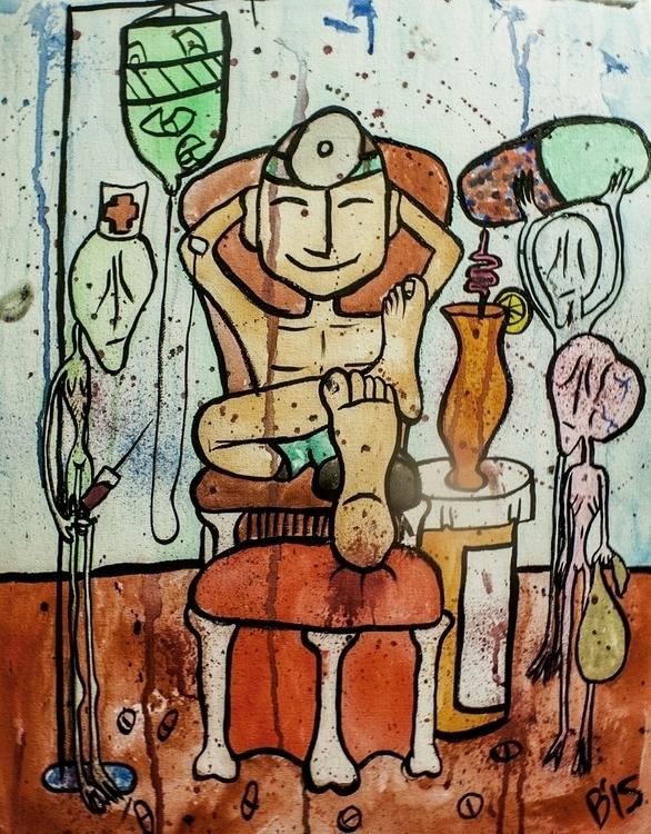 Comfortable Living Watercolor i - brieana | ello