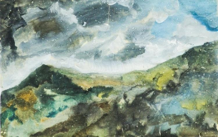 Mountain Storm, 40/60 paper / w - antonbogatov | ello