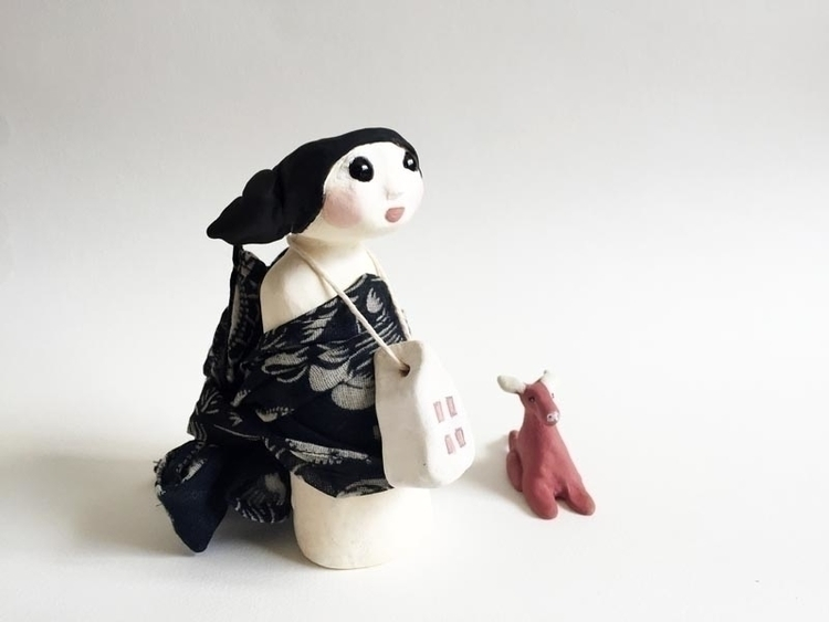 Home heart SOLD - sculpture, artdoll - jokamin | ello