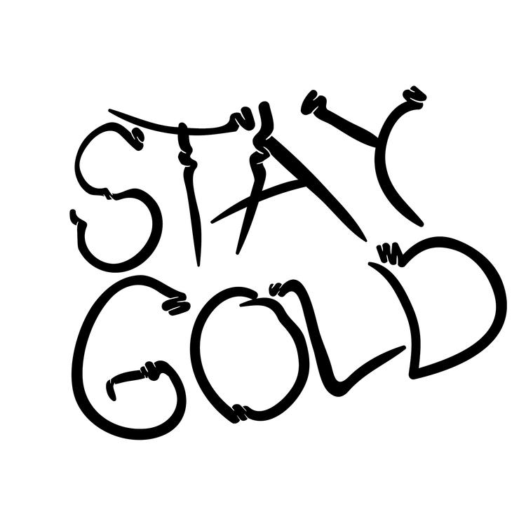 stay gold - typo, typography, type - dnscr | ello