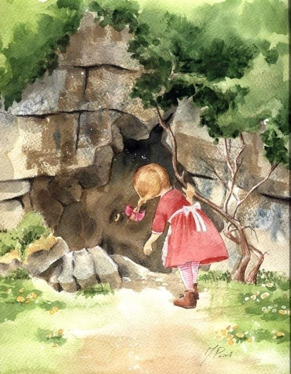 Mom, troll - illustration, fantasy - joannapasek | ello
