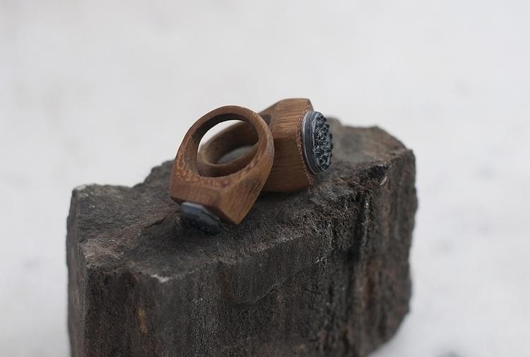 Ring - couple, stamp, ring - masa-3066 | ello