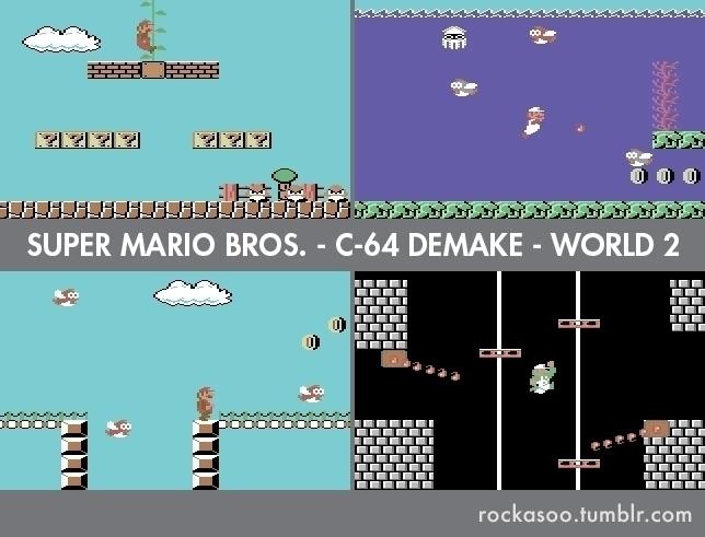 World 2 C64 Super Mario Bros. D - rockasoo | ello