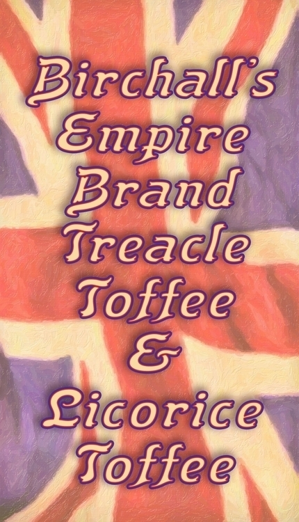 Empire Brand Treacle Toffee - typography - rasendyll | ello