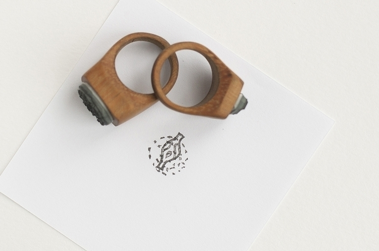 Ring - Stamp, ring, couple - masa-3066 | ello