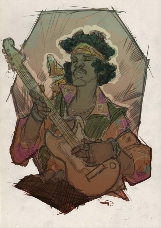 Jimi Hendrix - denismedri, jimihendrix - denismedri | ello