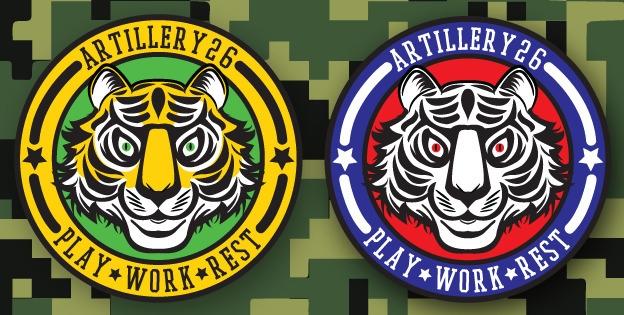 Artillery 26 Tiger logo - tiger - artillery26 | ello