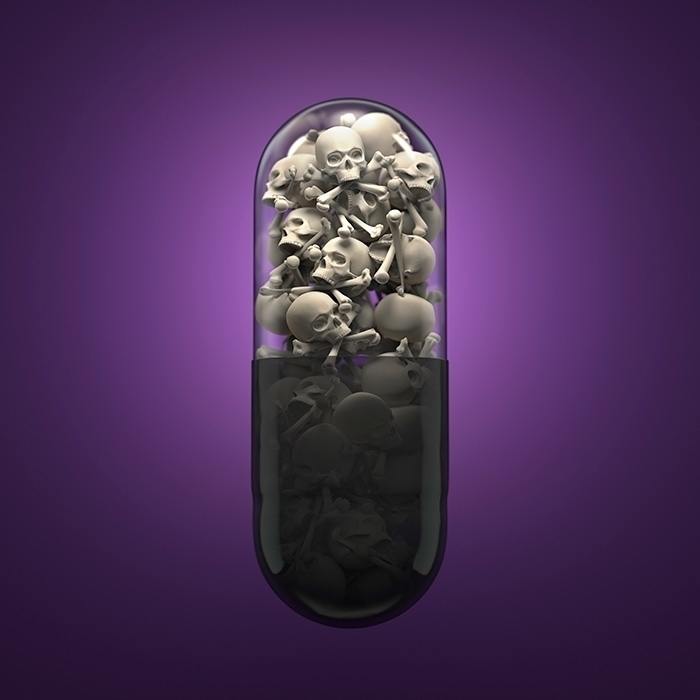 Pill Skulls - illustration, 3d, pill - murdoch-7175 | ello