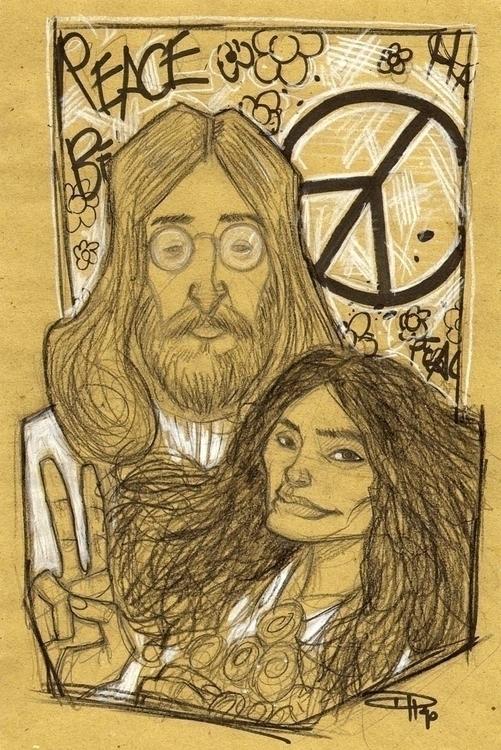 John Lennon Yoko Ono - denismedri - denismedri | ello